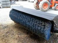 "this is an 84"" angle broom great for big jobs like"