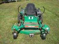 "bobcat ransomes Z 61"" ZERO TURN riding mower,electric"