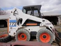 2001 or 2002 Bobcat 773 Skid Steer Loader Kubota Diesel