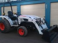 Bobcat CT335 Compact tractor with loader. This tractor