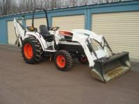 $2Bobcat CT450 compact tractor This tractor is equipped