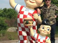 Fiberglass commercial statues I have both a large 7ft