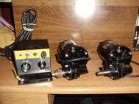 HERES TWO BODINE ELECTRIC 200 SERIES NSH-12G GEARMOTORS