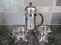 BODUM Chambord 8 Cup 1L French Press with Sugar and