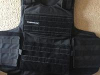 Armor shield body armor. is able to stop up to a 50.