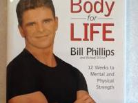 Hardcover Book. Body for Life by Bill Phillips and