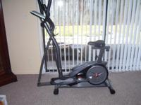 Body Force Dual Trainer Elliptical and Recumbent Bike