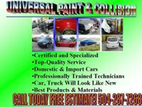 Universal Paint & Collision Repair 2616 Sharon St.