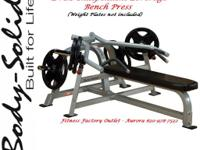 Body Solid Commercial Leverage Bench Press - New w /