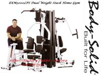 Body Solid EXM3000LPS 2 Stack Home Gym - New   7