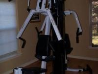 Body Solid Home Gym Weight System. Very good condition!