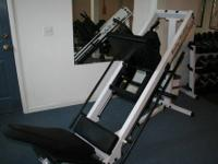 Body Solid Leg Press/Hack Squat $795.00 used- in