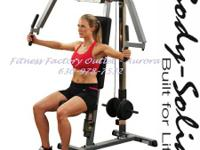 Body-Solid Plate Loaded Pec Machine - New