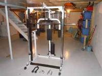 Body Solid Smith Machine in good condition, the machine