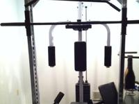 Large Professional Grade home gym. INCLUDES: weight