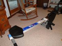 Mint condition, barely used Bodycraft VR 100 Rowing