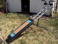This is a bodyworks workout machine it in great