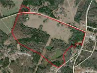 The property has 80.3 acres of premier land near