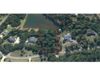 Lakefront homesite in the Bogart neighborhood of