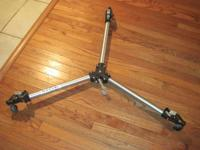 Bogen/Manfrotto Photography/Video Camera Dolly-Never