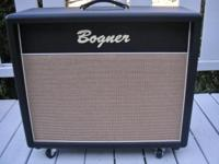 I am offering this Bogner 212C Speaker Cabinet for