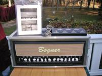 I am offering this Bogner guitar amp for friend who has
