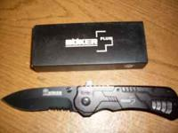 this is a new spring assist boker plus knife very sharp