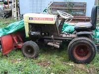 Bolens 1050 tube frame tractor for sale. Has PTO on