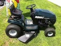 Bolens 13.5HP 38'' Cutting Deck Riding Mower Shift on