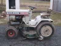HERE IS A BOLENS LARGE FRAME 1476 TRACTOR. 14HP