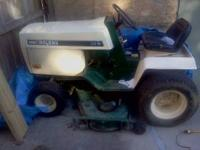 "Bolens 52"" cut lawn tractor with Kohler motor, runs"