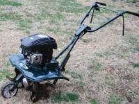 Perfect condition little used Bolens front tine tiller.