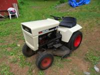 This is a nice older lawn and garden tractor by Bolens.