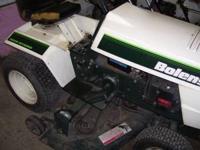 Bolens Garden Tractor 1668 hydro 18hp, heavy hydro