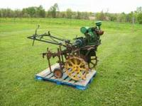 Bolens Garden Tractor SER # HB63117 Motor loose comes