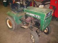 #1 Pictured Garden Tractor G-10 Tube Frame Model #1055