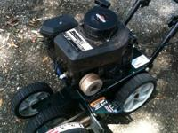 Bolens Gas Lawn Edger 3.5 Runs good. You have to bypass