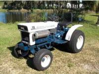 Bolens H 1502 Hydro diesel garden tractor. Built by
