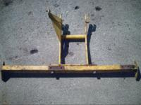 Implement frame for a Bolens Husky tractor It came off