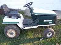 "42 "" cut Mower runs great . Deck in good shape. $450"