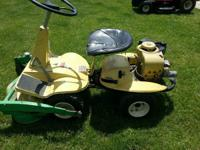 Is a 1968 or 69 runs and mows. Not in pictures but has
