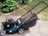 I HAVE BOLENS LAWN MOWER FOR SALE. COMES WITH A