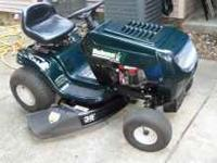 Bolens Lawn Tractor for $600 or best offer. 15.5 hp