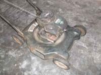 I have for sale a Bolens Push Lawn Mower bought from