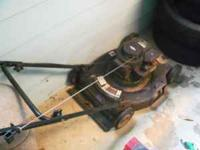 bolens push mower bought new 3-4 years ago don't need