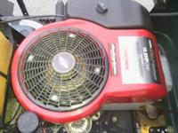 This riding mower is in great shape and has a brand new