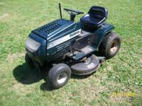 i am selling my riding mower 42 inch, cut 17hp,new