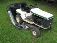 THIS IS A BOLENS ST100 LAWN TRACTOR WITH A BLOWN 10HP