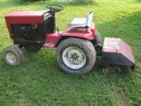 Early 70s Bolens tractor(H16, I think) with 32 inch