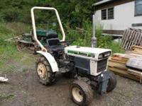 BOLENS COMPACT DEISEL TRACTOR WITH FRONT AND REAR